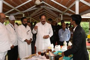 Krishi Vigyan Kendras must act as bridge between scientists, farmers: Naidu