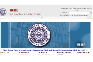 WBSHSE Results 2018: West Bengal HS Result 2018 declared at wbresults.nic.in, 83.75% students pass    Check now