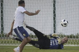 FIFA World Cup: Argentinian keeper Caballero hit hard by his error