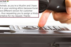 Airtel user asks for Hindu customer support executive; Twitterati fume