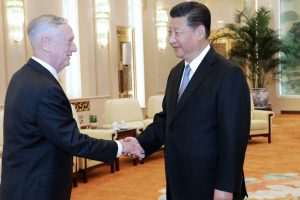 China will not concede an inch of land, President Xi Jinping tells Mattis