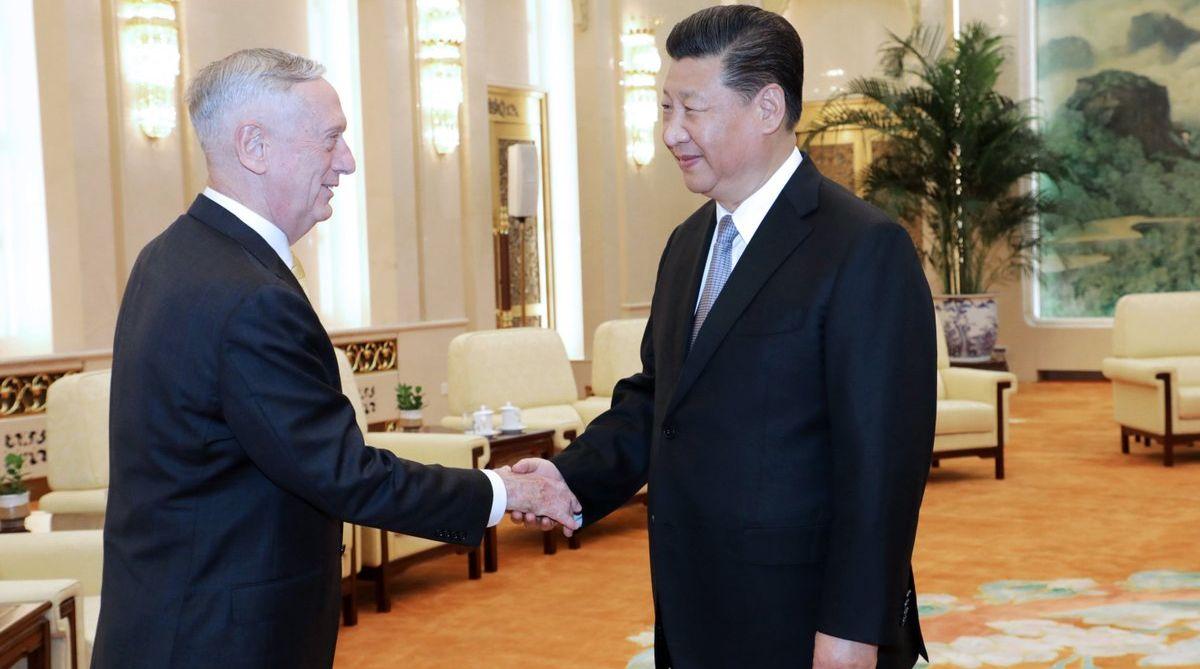 Xi Jinping, Chinese President, China, US Defence Secretary, James Mattis