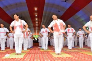 How Chief Ministers celebrated 4th International Yoga Day