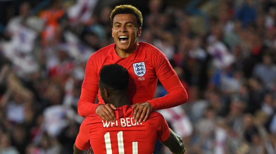 2018 FIFA World cup, FIFA World cup 2018, England, Russia, Dele Alli