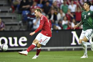 Denmark beat Mexico 2-0