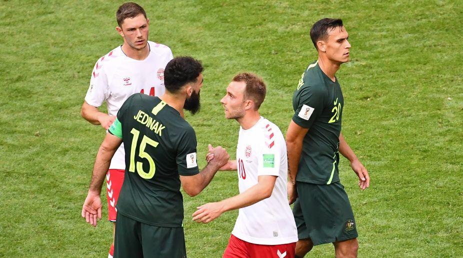 2018 FIFA World Cup, FIFA World Cup 2018, Denmark Football Team, Australia Football Team