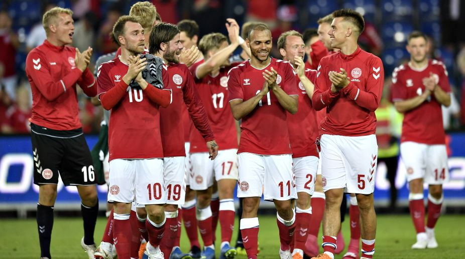 2018 FIFA World Cup, FIFA World Cup 2018, Denmark Football Team, Match lineups