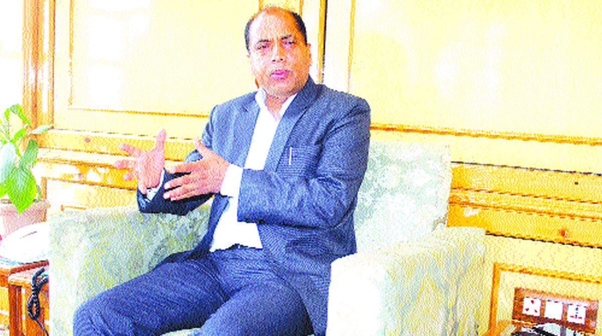 Jai Ram Thakur, Prem Kumar Dhumal, Himachal Pradesh, BJP