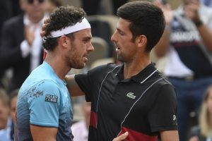2016 champion Djokovic downed by Cecchinato in French Open quarters