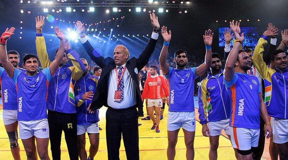 Indian Kabbadi team