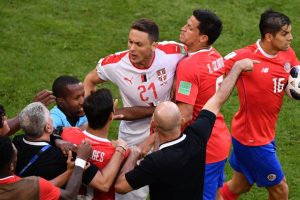 2018 FIFA World Cup | This is why Nemanja Matic had a tussle with Costa Rica coach