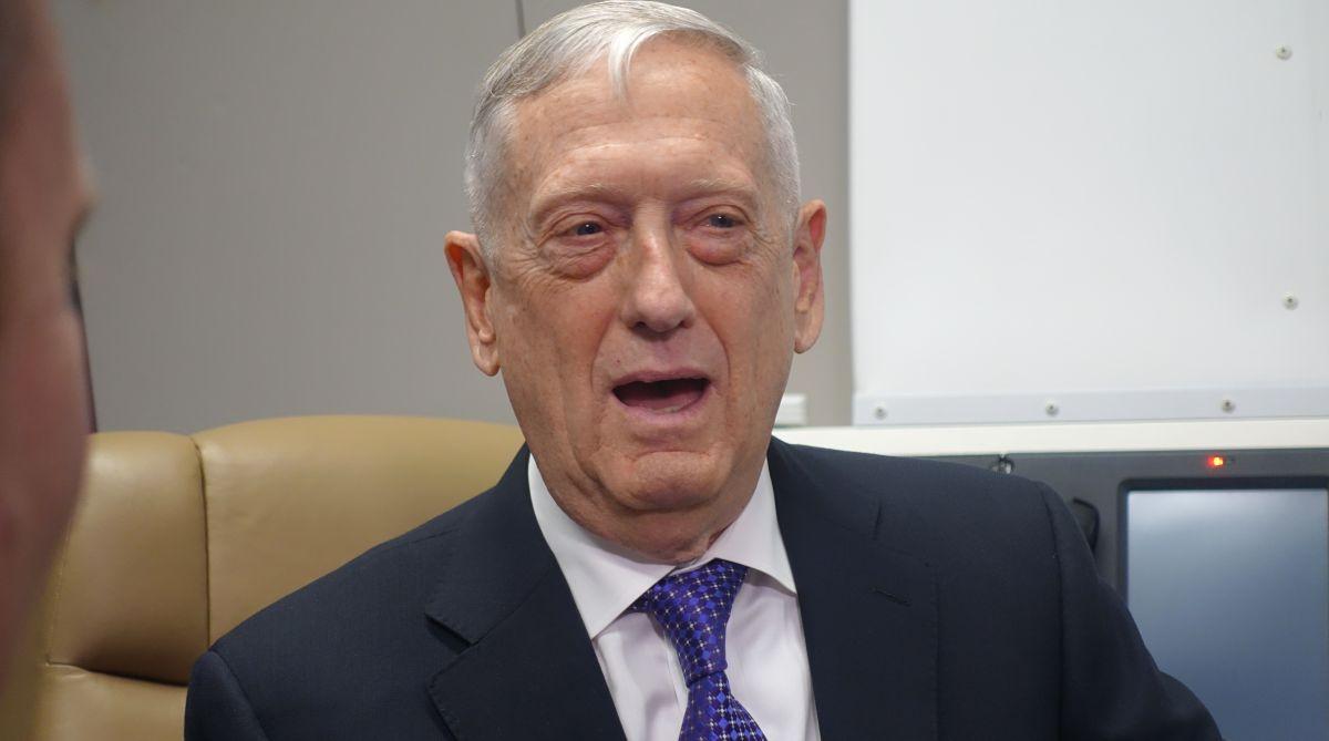 US Defence secretary, james mattis