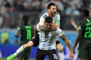 2018 FIFA World Cup | Marcos Rojo the saviour as Argentina live on