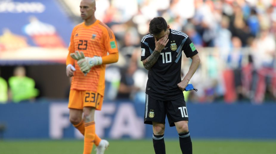 2018 FIFA World Cup, Messi, Argentina, flop