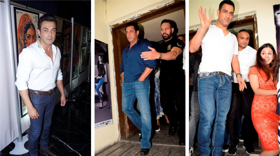 In pics: B-Town stars throng 'Race 3' special screenings