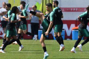 2018 FIFA World Cup | Cristiano Ronaldo and Portugal train ahead of Uruguay tie