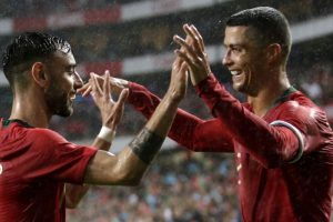 Ronaldo shines on his return as Portugal make light work of Algeria