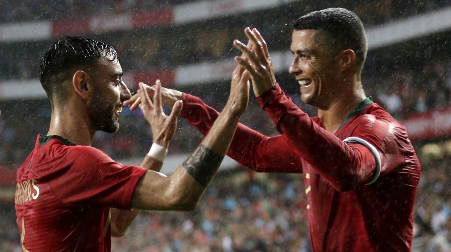 Cristiano Ronaldo, Portugal Football Team, Algeria Football Team, 2018 FIFA World Cup
