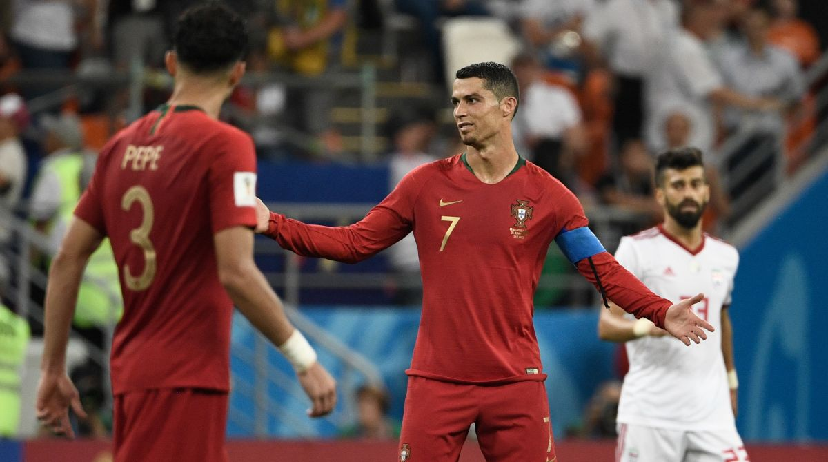 Ronaldo, Portugal, 2018 FIFA World Cup