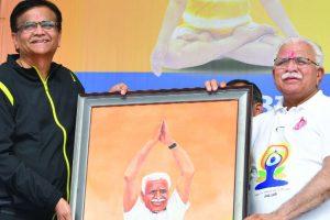 Haryana CM announces to set up 'Yoga Aayog'