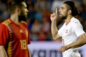Spain, Switzerland draw 1-1 in World Cup warm-up