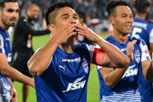 Sunil Chhetri 100: Bhaichung Bhutia welcomes Indian captain in elite club