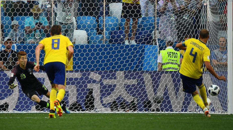2018 FIFA World Cup, Sweden, South Korea, Andreas Granqvist