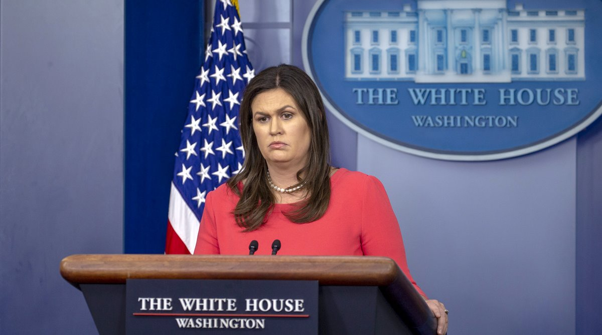 Sarah Sanders, White House, Russian meddling
