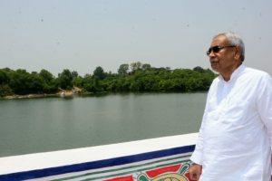 CM Nitish Kumar lays foundation stone of Bihar's 1st double decker flyover