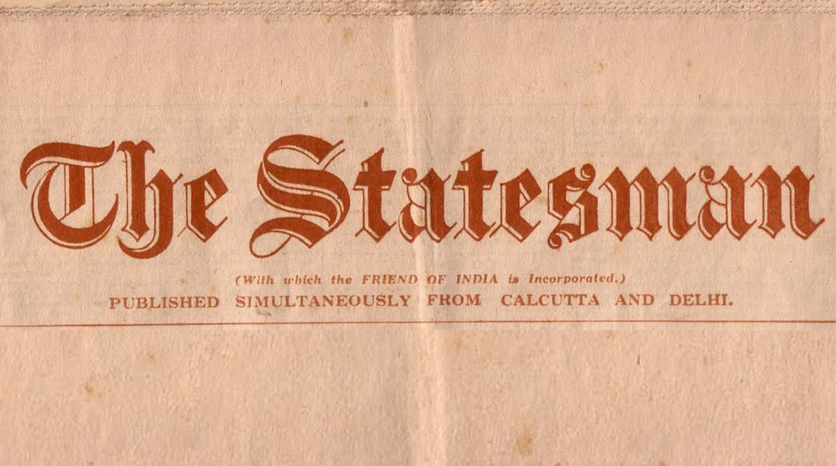 100 Years Ago, The Statesman, Statesman 100 Years Ago