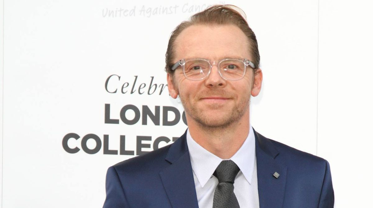 Hope people find comfort in my battle with depression, alcoholism: Simon Pegg