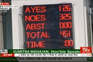 Narendra Modi government wins its first no-confidence motion comfortably
