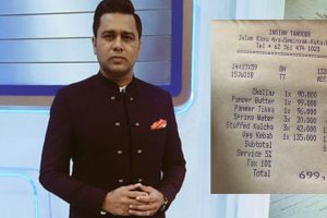 OMG! Former cricketer Aakash Chopra paid 7 lakh bill for one meal