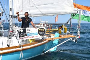 Golden Globe Race | Indian Naval officer Abhilash Tomy sets sail to circumnavigate the globe solo
