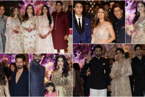 In pics: Starry affair at Akash Ambani and Shloka Mehta engagement party