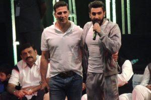When I grow up, I want to be like Akshay Kumar: Ranveer Singh