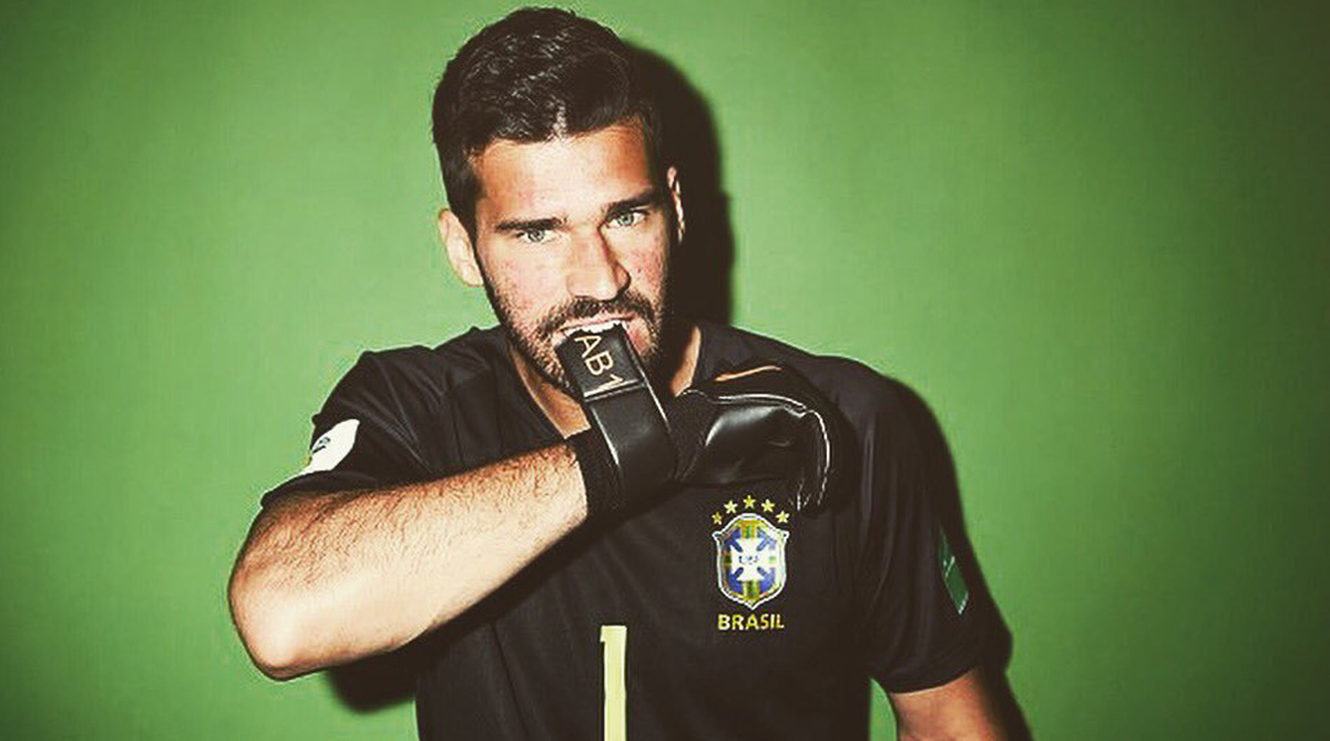 Alisson Becker, Brazilian footballer, AS Roma, Liverpool, Liverpool goalkeeper,