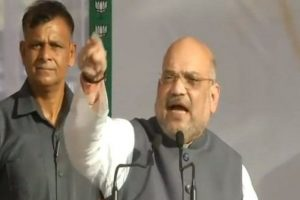 Is Congress forming international mahagathbandhan against PM Modi, asks Amit Shah