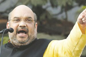 Security beefed up for Amit Shah rally