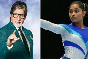 Amitabh Bachchan praises Dipa Karmakar for her World Challenge win