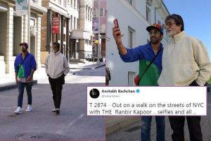 A 'Roman-era man' and the truth behind NYC selfie of Amitabh Bachchan and Ranbir Kapoor