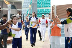 Asian Games 2018 Torch Relay begins its journey from New Delhi