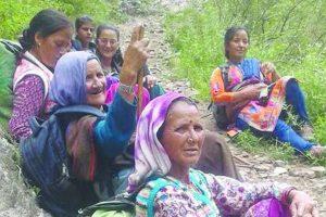 Landslides sweep away Bara Banghal's food supplies