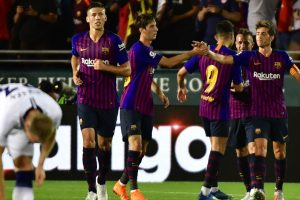 Barcelona topple Tottenham on penalties after 2-2 draw