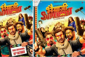 Poster, release date of Sunny Deol, Preity Zinta-starrer Bhaiaji Superhit out