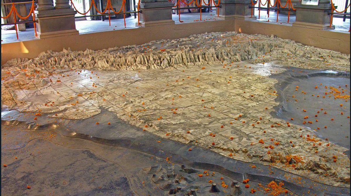 Bharat Mata Mandir, unique temple, Indian unique temple, Bharat Mata Mandir UP, Bharat Mata Mandir Varanasi