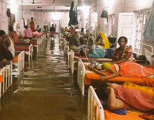 Bihar Hospital Flood Nalanda Medical College