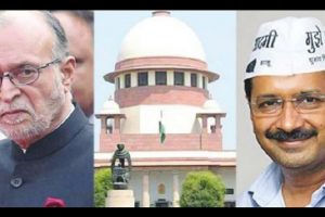 Delhi power tussle continues