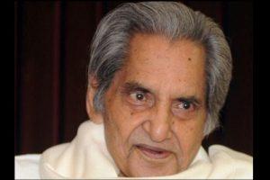 Doyen of Hindi poetry Gopal Das 'Neeraj' passes away
