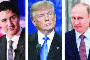 The handling of Donald Trump